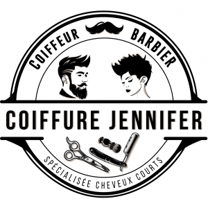 Réalisation du logo coiffure JENNIFER
